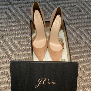 J. Crew Lucie Suede Pumps -never worn!
